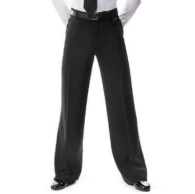 2018 New Arrival Men Jazz/Latin Dance trousers Pants Black Mens Ballroom Dance Pants Dance Wear Practice/Performance 2 models