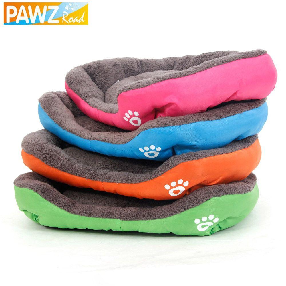 Pawzroad S-3XL собака кровать потепления собака дом мягкая Материал собака кошка питомник Коврики теплая зима для большая собака кошка товары для...