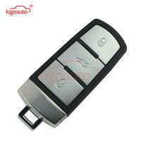 3C0 959 752 BA Smart key 3button 434Mhz with ID48 chip for VW Passat B6 3C B7 Magotan CC keyless remote 752BA kigoauto