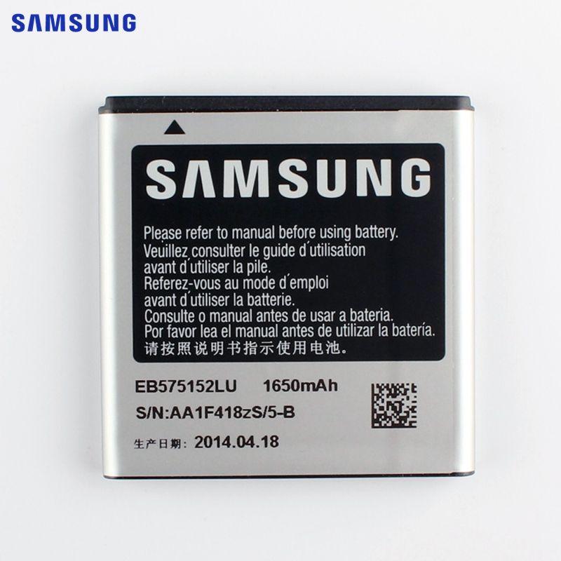 SAMSUNG Original Replacement Battery EB575152LU For Samsung Galaxy S I9000 i9001 I9003 I589 I8250 I919 D710 I779 Battery 1650mAh
