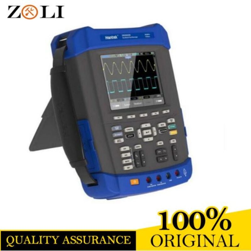 Oscilloscope 1GSa/s sample rate Hantek DSO8202E Large 5.6 inch TFT Color LCD Display DSO 8202E best high quality sale in stock