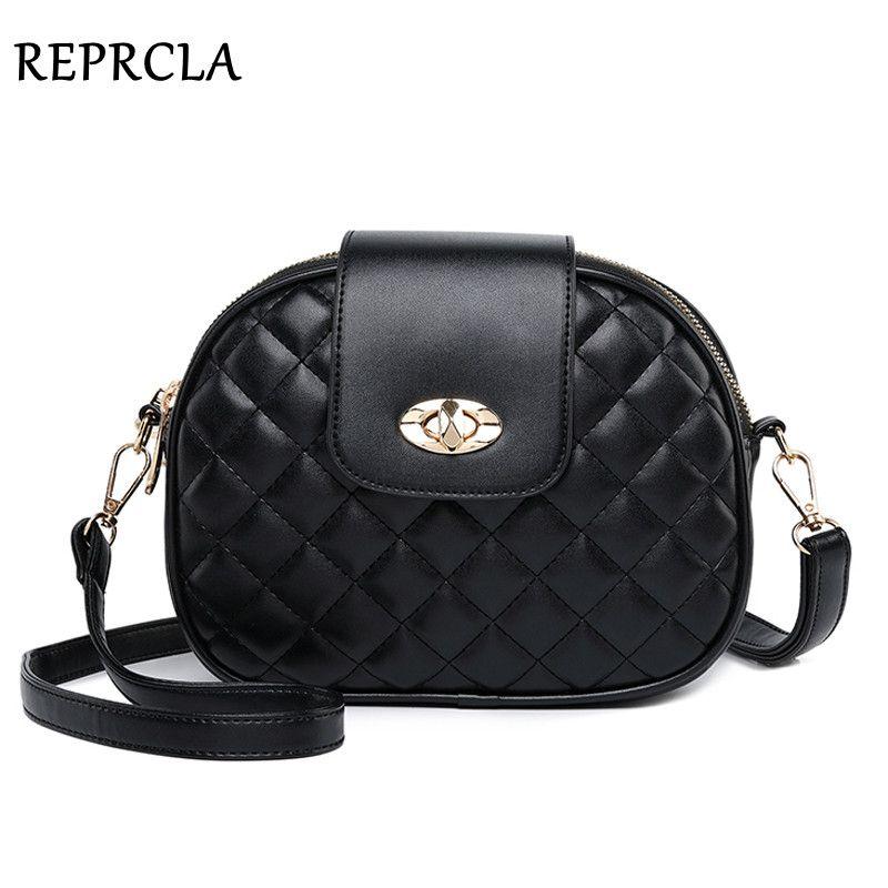 REPRCLA Hot Fashion Crossbody Bags for Women 2019 High Capacity 3 Layer Shoulder Bag Handbag PU Leather Women Messenger Bags