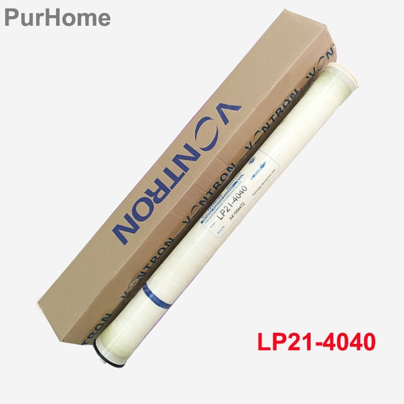 Low-Pressure RO Membrane Vontron LP21-4040 Industrial Water Treatment Reverse Osmosis System Water Filtration NSF Standard