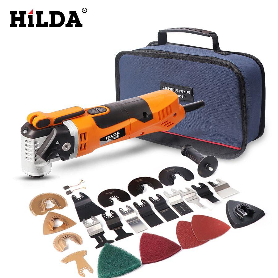 HILDA outil de rénovation multi-outils oscillant tondeuse à domicile outils de travail du bois scie électrique multifonction