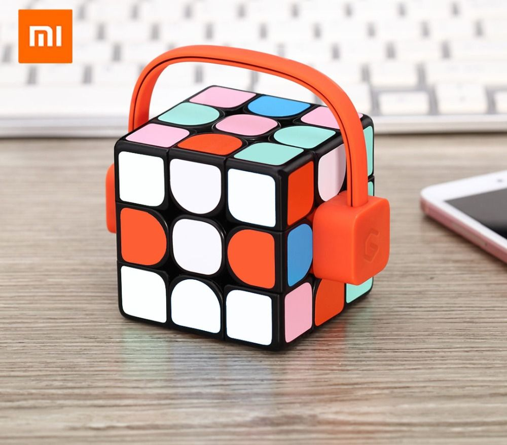 Xiaomi Mijia Giiker Smart Mi Cube Super Professional Magic Cube Toy with Bluetooth Phone APP Remote Control for Children Adult