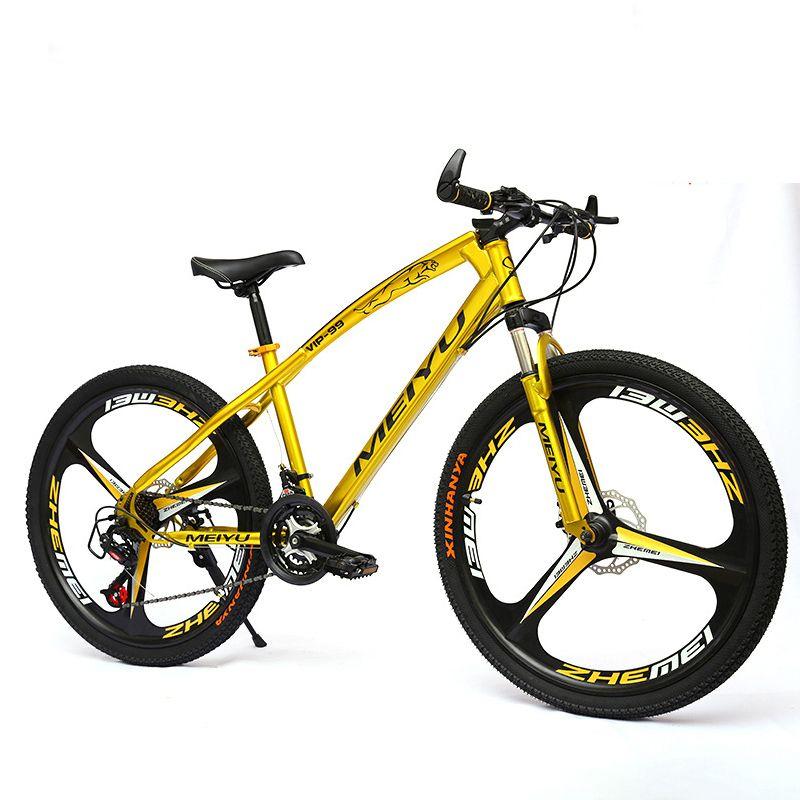26 Inch mountain bike speed 21/24/27 speed dual disc brake three knife