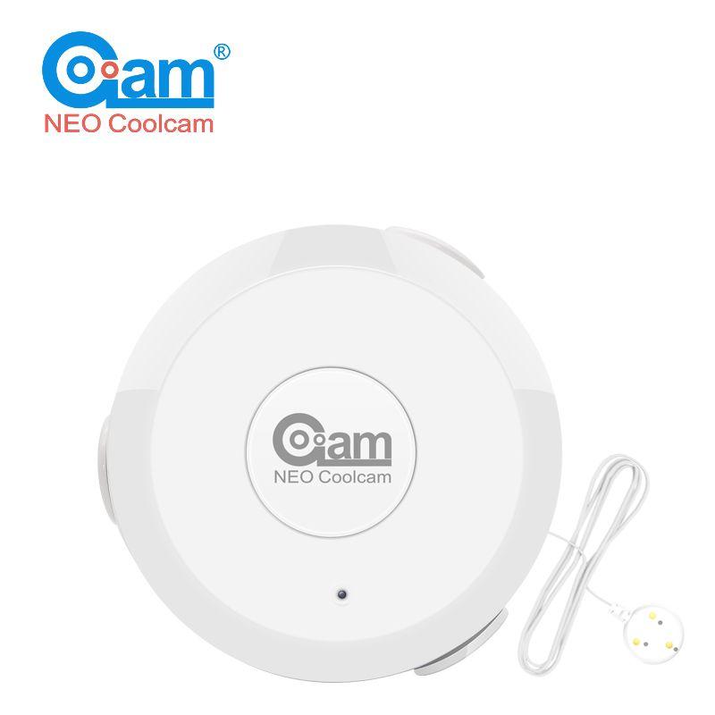 NEO COOLCAM NAS-WS01Z Z wave <font><b>Flood</b></font> Water Leak Alarm Sensor Water Leakage Sensor Z-wave Sensor Alarm Home Automation System