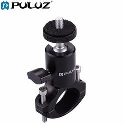 PULUZ Bike Bicycle Aluminum Handlebar Tripod Ball Head Adapter Mount for GoPro HERO 5 4 Session/5 4 3+ 3 2 1,Xiaoyi Sport Camera