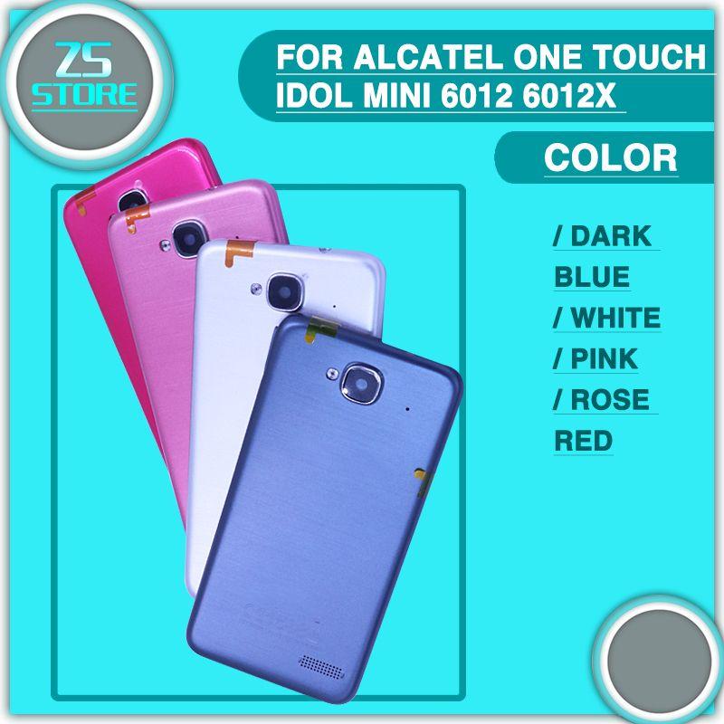 Ot6012 Couvercle De La Batterie Pour Alcatel One Touch mini Idol 6012 6012X 6012A 6012 W 6012D Retour Logement Batterie Cas Dur de Couverture PC