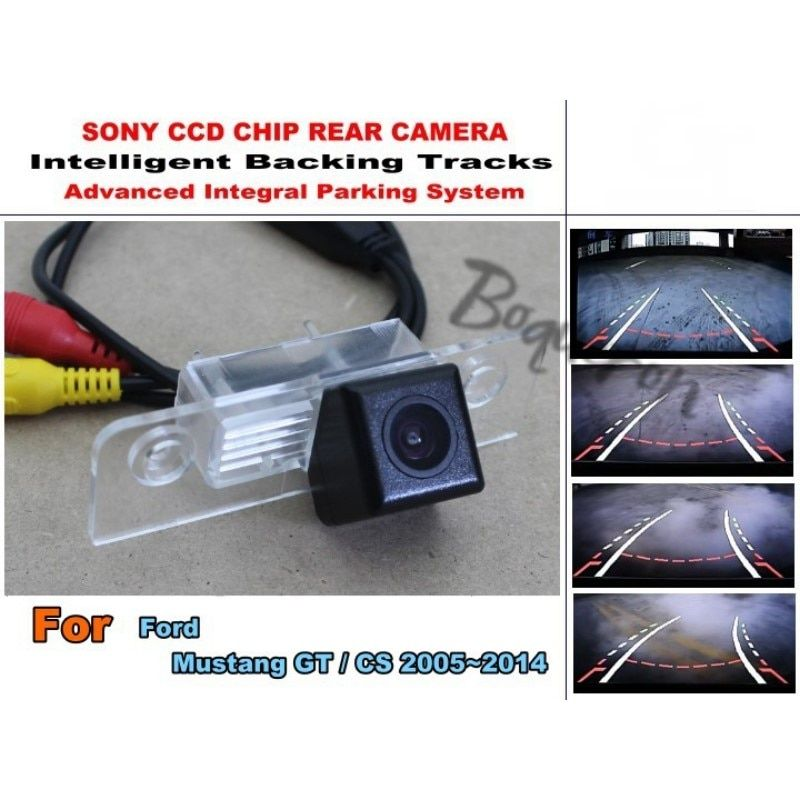 For Ford Mustang GT / CS 2005~2014 CCD Night Vision 20M Waterproof High Quality Camera Smart Backing Tracks Camera