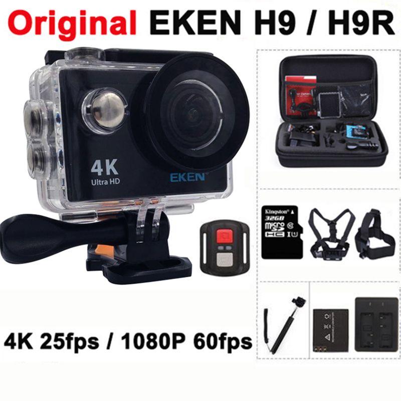 Original EKEN H9/H9R Acción cámara Ultra HD 4 K/25fps WiFi 2.0
