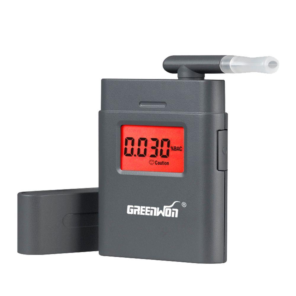 High Accuracy Alcoholmeter Digital Alcohol Tester Wine Alkohol Tester Lcd Backlight Semiconductor Sensor Breathalyzer