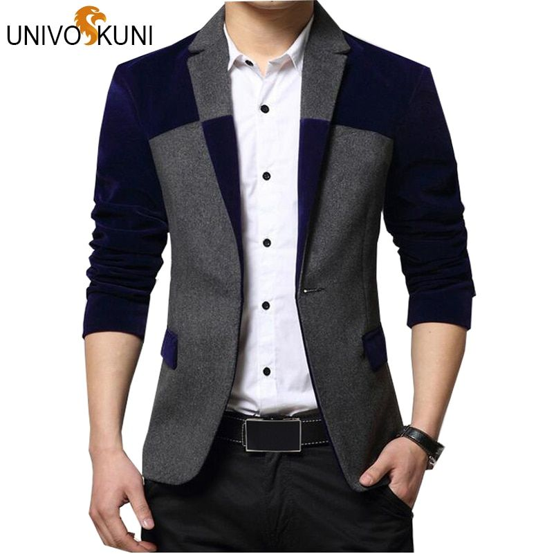 Univos куни Пиджаки для женщин Для мужчин модные Для мужчин пиджак костюм платье лоскутное Костюмы для Для мужчин Пиджаки для женщин Бизнес ку...