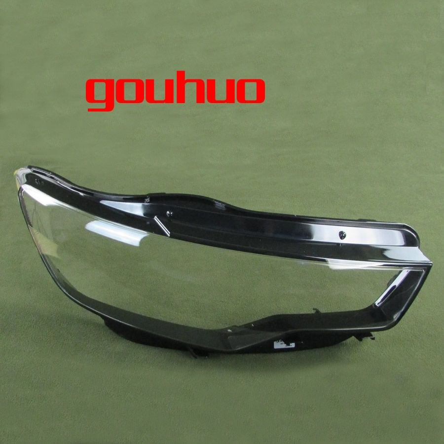 For Audi A6L C7 12-16 headlight cover headlight lamp shell headlamps transparent lampshade the base shell with base 1PCS