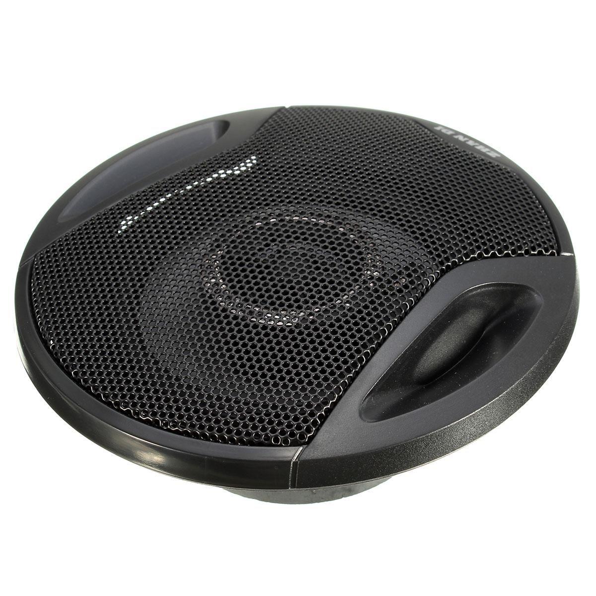 New Pair 4 Inch 10cm Car Speakers /Car Tweeters Dual Cone Coaxial Car Van Front Rear Door Dash  240W