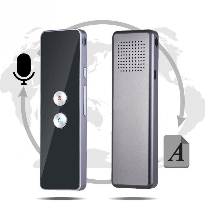 new Intelligent Voice Translator Bidirectional Instant Translation 30+ Languages Easy to Carry Built-in Dual Microphone