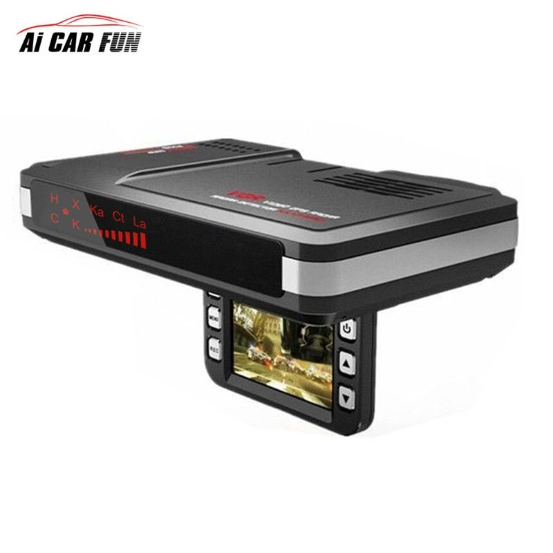Universal 2 in 1 Radar Detector Car DVR camera 720P dash Cam flow detecting car Motion Detector support G-sensor for all vehicle