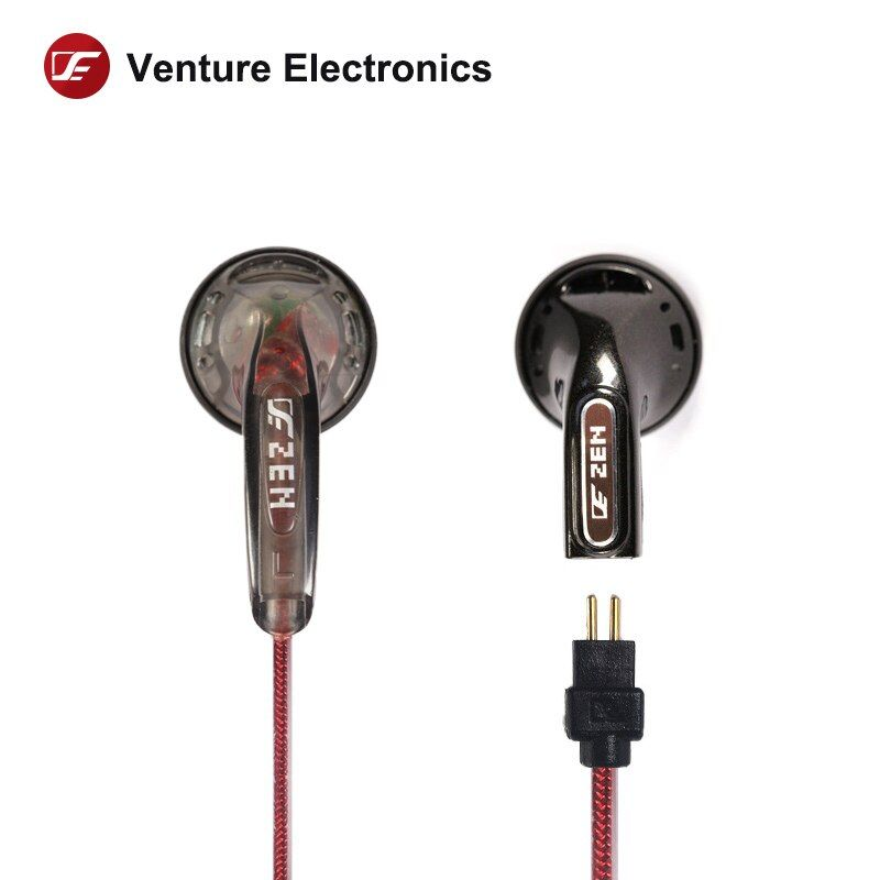 Venture Electronics VE ZEN Earphone high impedance 320 ohms Headphone Hifi In ear Earbud