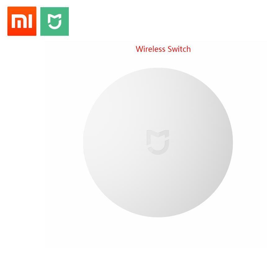 2018 xiaomi Smart commutateur sans fil pour xiaomi Smart maison contrôle Center Intelligent multifonction blanc interrupteur dans la boîte