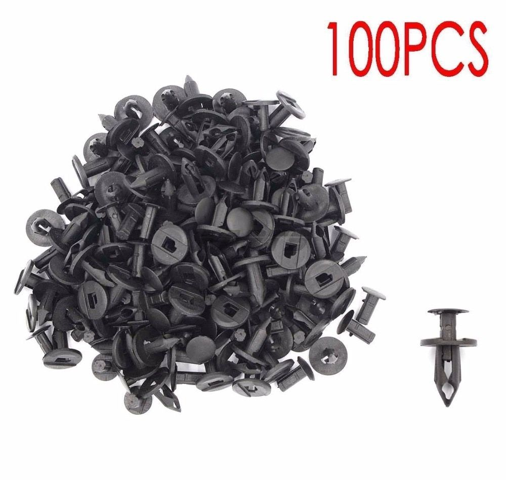 KEMiMOTO Renegade Rivets 100 Pack UTV for Can Am Maverick Commander Outlander For John Deere Gator TX For Husqvarna HUV 4421
