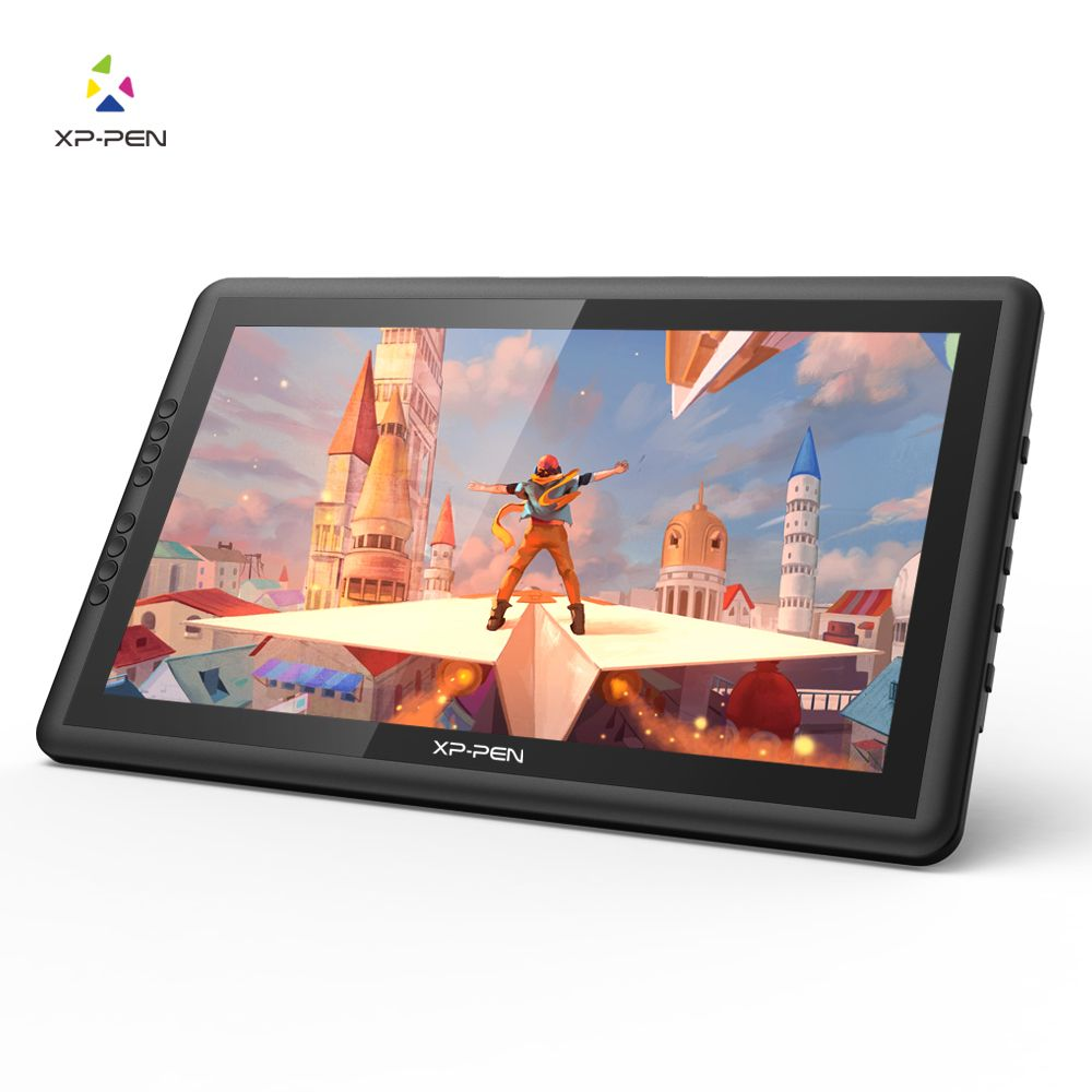 XP-Stift 16 Pro HD IPS Digitalen Grafikdiagramm-tablette Pen Display Monitor mit Express Tasten und Verstellbarer Ständer