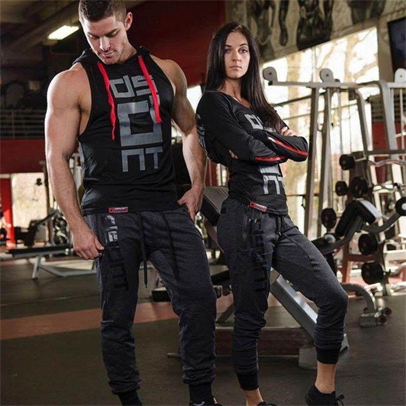 Männer Mit Kapuze sleeveless unterhemd baumwolle Mann weste bodybuilding tank top mens Workout fitness hoodies sweatshirts Mann