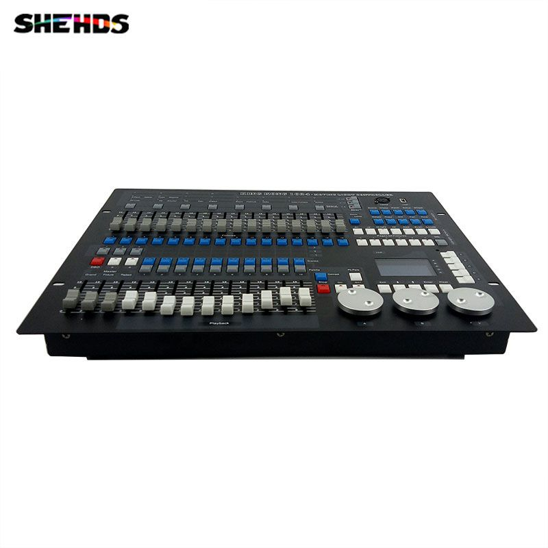 Fast Shipping 1024 Channels DMX512 DMX Controller Console DJ Disco Equipment Good for LED Par Moving Head SHEHDS Stage Lighting