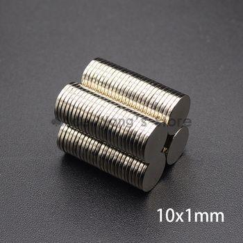 10mm x 1mm Néodyme Aimant Mini Petit Rond Disque Magnétique Matériaux