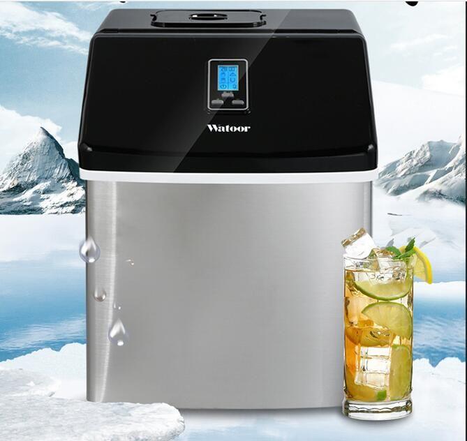 Kommerziellen/Haushalt Eismaschine Milch Tee Shop/Cafe/Kaltes Getränk Shop Eiswürfel Maschine Edelstahl Eis maschine