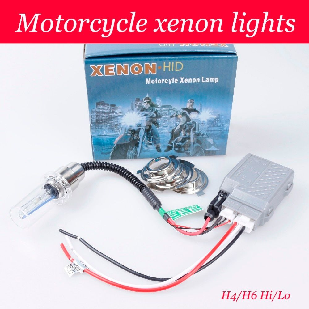 2018 Car High Intensity Discharge Motor/motorcycle Bike Lights Kit H6 Hi/low Xenon Bulbs 2800lm 12v 35w 6000k Freeship Aaa