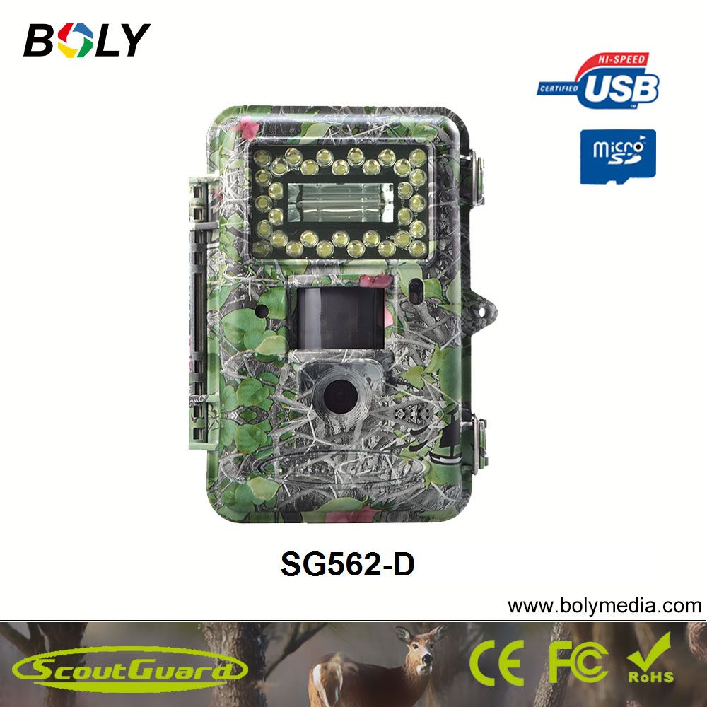 New photo traps ScoutGuard SG562-D white LED with flash 14MP 100ft detection range Wild Life Trail Camera and Secure Camera