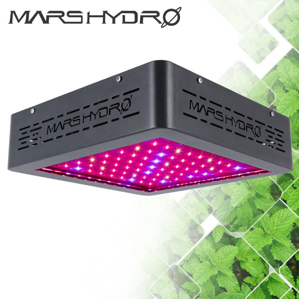 Mars Hydro Upgraded Mars II 400W Led Grow Light Full Spectrum with IR lights Hydroponics Lamp for Indoor Box