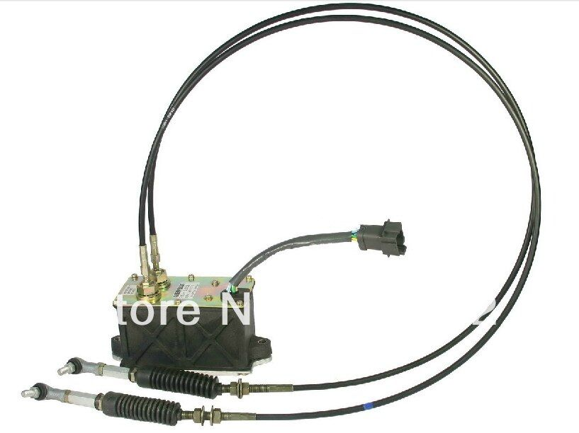 Free shipping! OEM Apply to excavator 320C 312C 320D throttle motor assembly 7 cables 247-5212/227-7672 , excavator track parts
