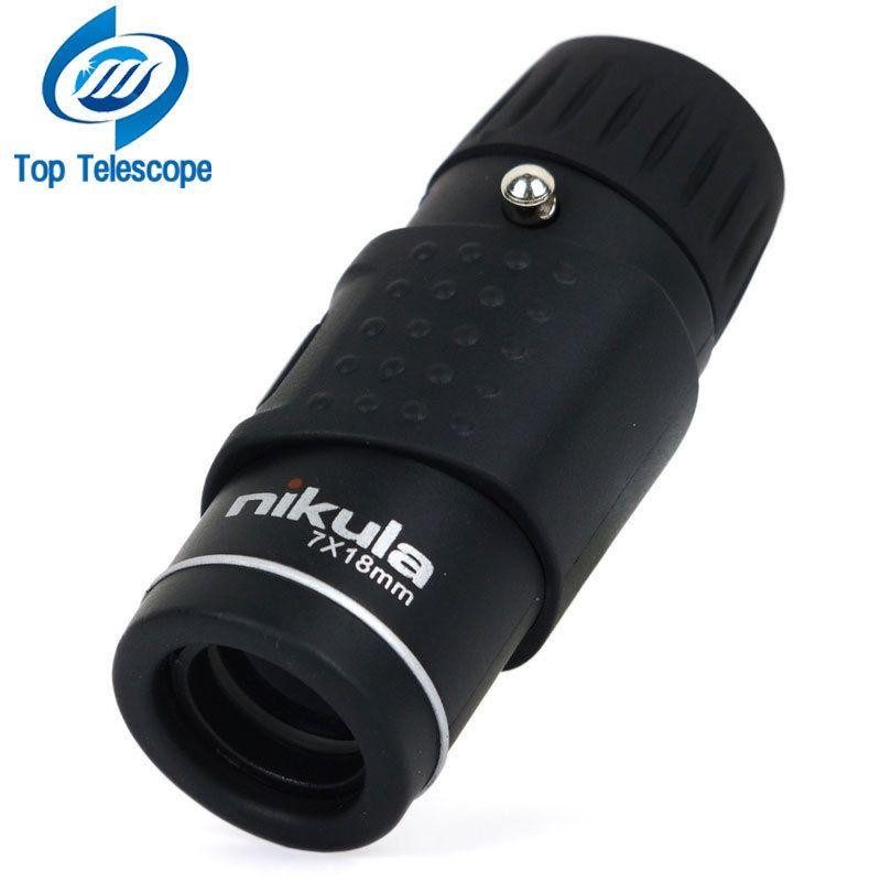 Nikula Monoculaire Télescope 7X18 Optique Entièrement hd qualité mini monoculaire de vision nocturne Sport Chasse Concert Spotting Scope