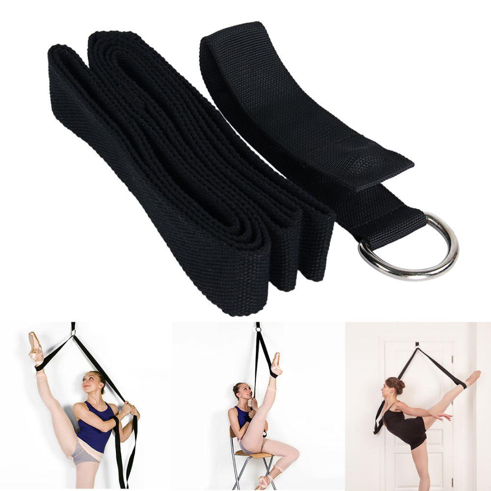 Ballet Yoga Stretch Correa de la Correa de Estiramiento de La Pierna Ejercicio De Entrenamiento de la Aptitud de Danza Gimnasia Física