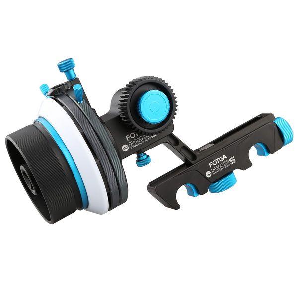 FOTGA DP500-IIS Quick Release A/B Hard Stop Dampen Follow Focus for DSLR Camera
