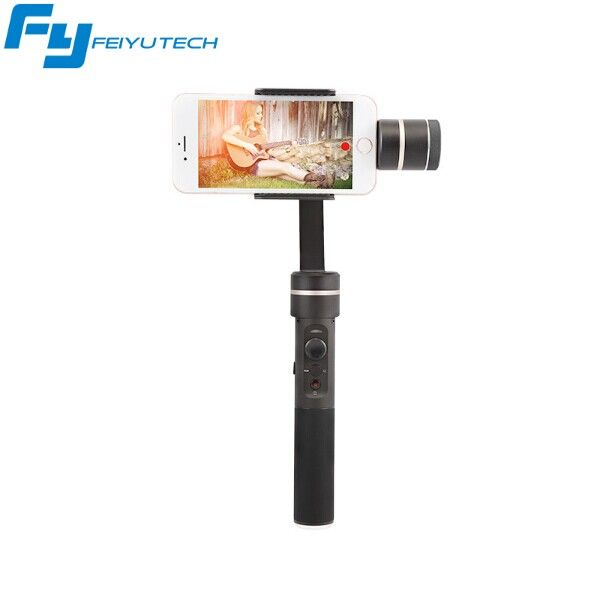 Feiyu FY SPG C 3-Axis Smartphone Stabilizer Handheld Gimbal for phone /HUAWEI /xiaomi /S7 Zoom Button Professional Selfie Stick