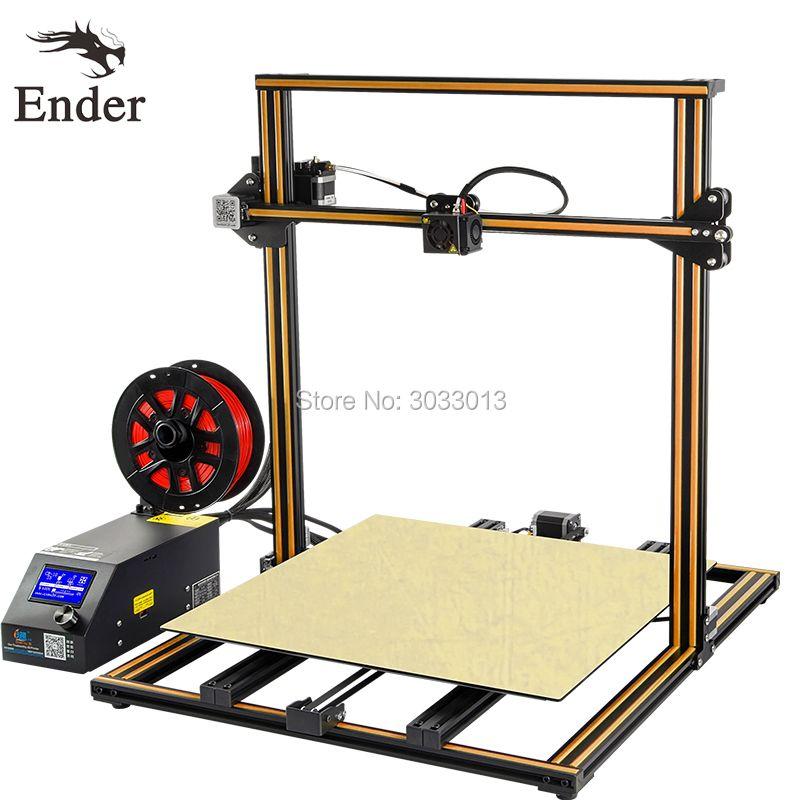 CR-10 5S 3D printer Kit 500*500*500mm Large print Size Filament Monitoring Alarm,Dual-Z Rod,Continuation Print Creality 3D print