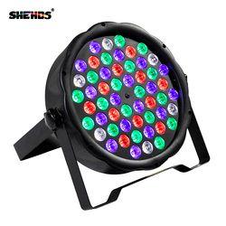 Быстрая доставка светодиодный 54x3 W RGBW светодиодный плоский Par RGBW Цвет смешивания DJ мыть свет сценический Uplighting КТВ диско DJ DMX512