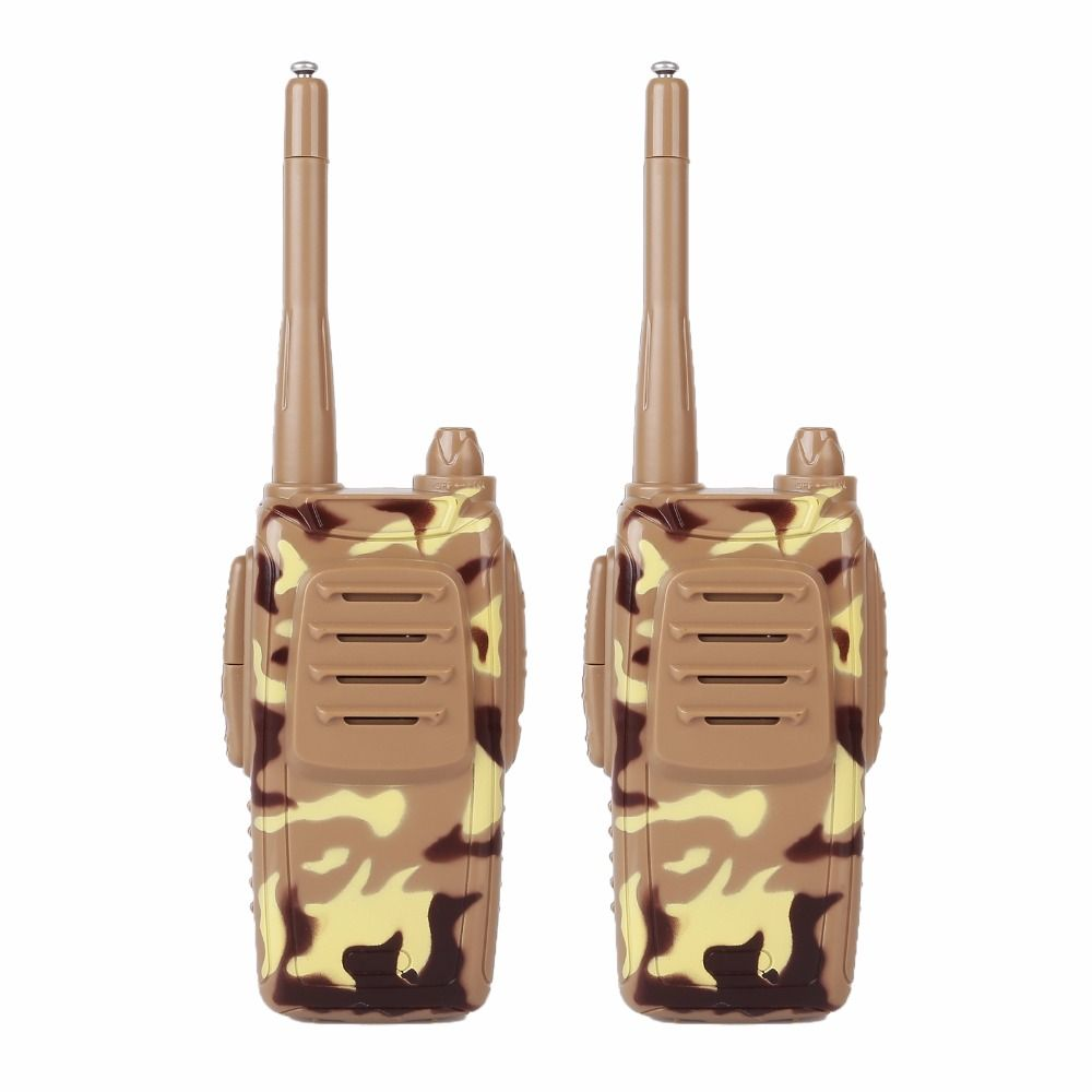 2 x 73hams K-2 Walkie Talkie Handheld Kids Long Range Portable Gift Camouflage
