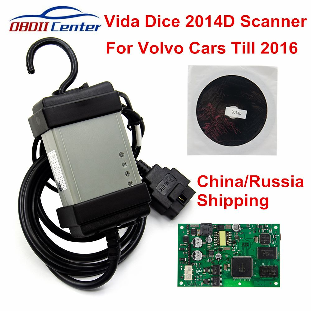 2019 For Volvo Vida Dice 2014D Diagnostic Scanner Tool For Volvo Dice Pro Car Diagnosis Interface Firmware Update Self-Test