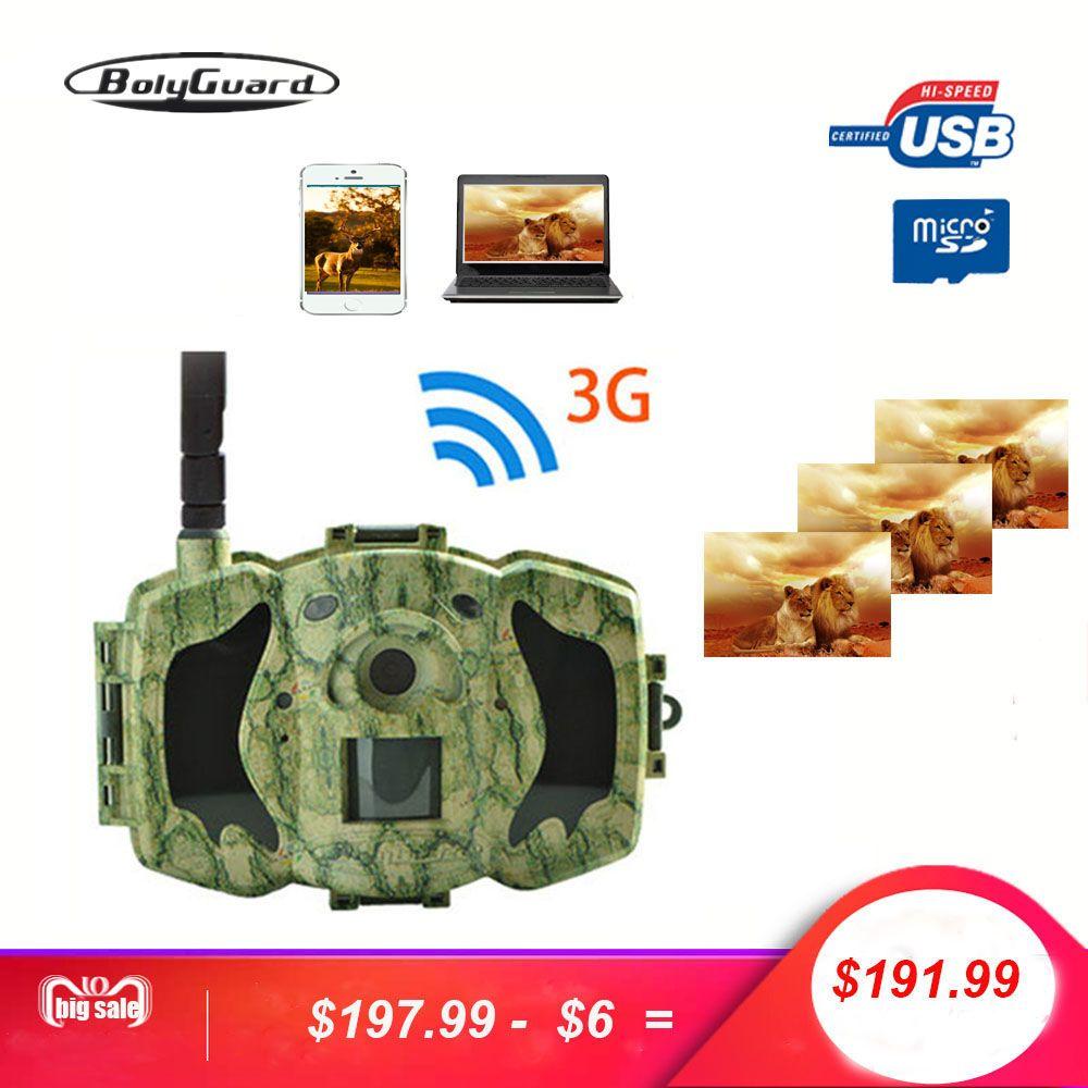 Bolyguard 30MP 1080P HD Hunting Trail Camera 3G Wireless Security GSM phone MMS GPRS Waterproof Photo Trap thermal imager Camera