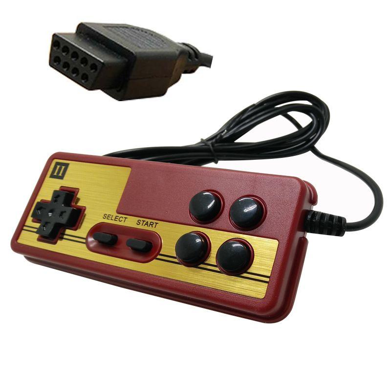 2/4 stücke Griff die NES 9 polige buchse griff controller gamepads leitungslänge 1,8 meter