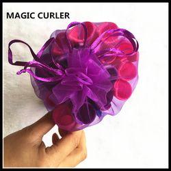 Variété magie spirale en plastique manuel bigoudis Magique boucles