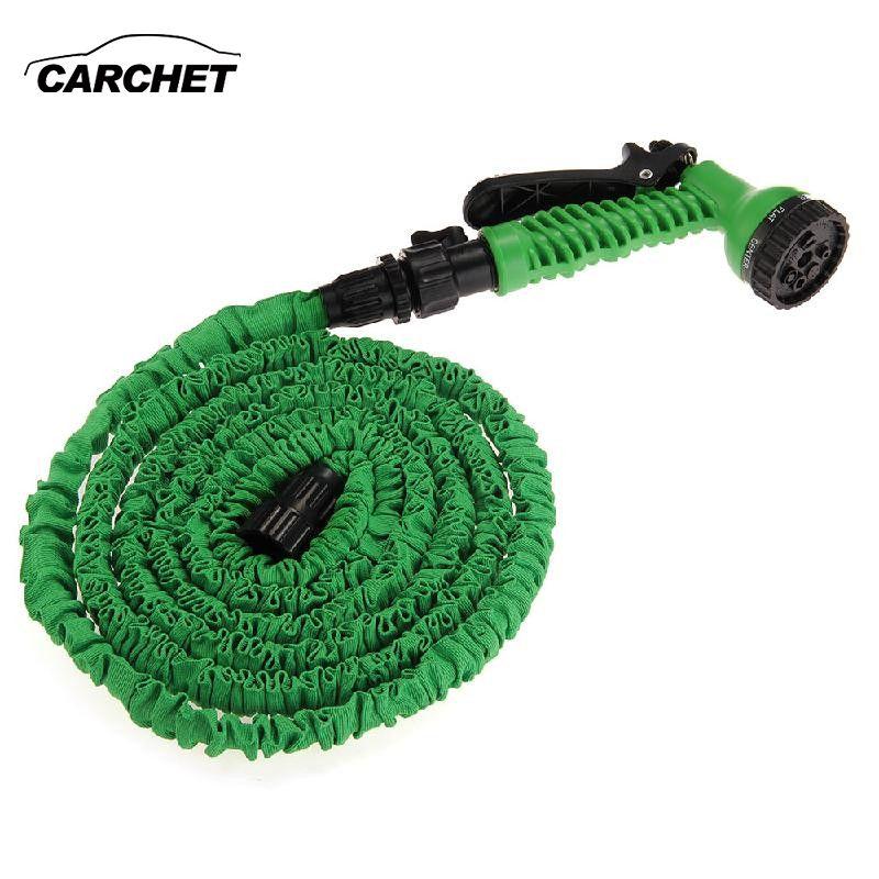 CARCHET 25FT Water Gun Car Washer High Pressure Washer Gun Hose Pipe Spray Nozzle Flexible Car Garden Washing Cleaning Machine