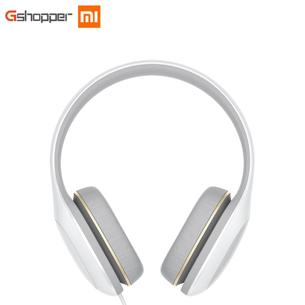 Newest Original Xiaomi Mi Headphone Comfort global version With Mic Xiaomi Headset Noise <font><b>Cancelling</b></font> Stereo Music HiFi Earphone