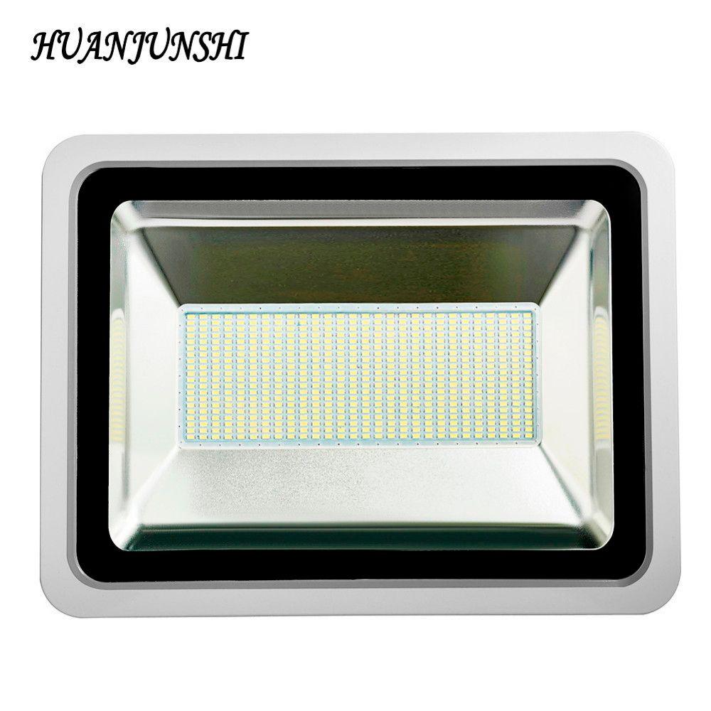 Ultradünne Led Flutlicht 300 watt Led-straßenleuchte 220 v Wasserdichte Led Flutlicht Scheinwerfer Außen Beleuchtung LED Reflektor Lampe
