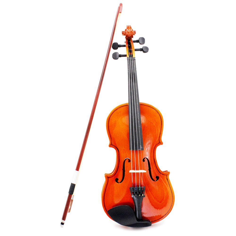 1/4 Size Violin Fiddle Basswood Steel String Arbor Bow for 6-8 Beginners
