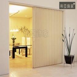 Japan PVC according door foldable sliding door room separation fire proof indoor use
