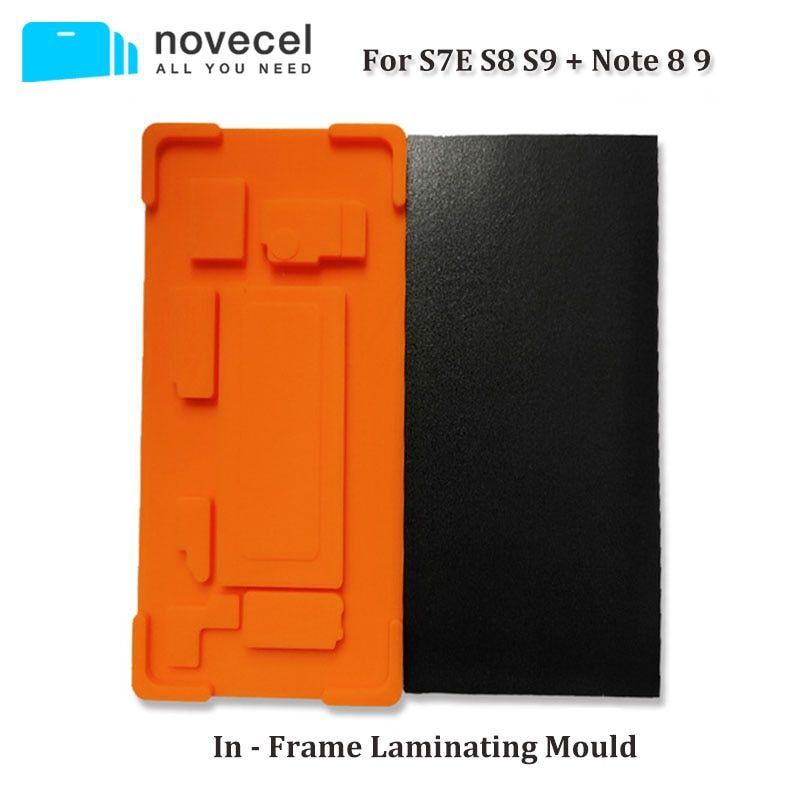 Novecel 1set In Frame Laminating Mould for Samsung S7 edge S8 S8+ S9 S9+ Note8 Note9 Suitable for Q5 A5 OCA Laminator